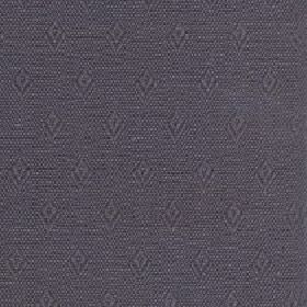 Fara - Cocoa - Small, simple diamonds and speckles creating a subtle pattern onvery dark grey coloured cotton and linen blend fabric