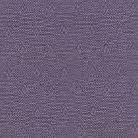 Fara - Dusk - Two dark shades of grey making up a speckled effect behind rows of simple diamonds on cotton and linen blend fabric