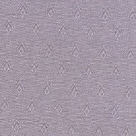 Fara - Orchid Haze - Cotton & linen fabric made in 2 grey shades with a subtle pink tinge, a speckled effect & a pattern of rows of diamonds
