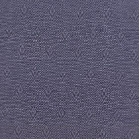 Fara - Dark Slate - Fabric made from slightly speckled, simple diamond shape patterned cotton and linen in two similar dark shades of grey