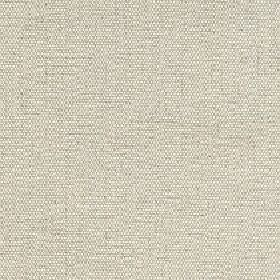 Hoy - Wheat - Flecked fabric woven from light grey and cream coloured cotton and linen blend threads