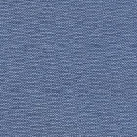 Hoy - Aegean Blue - Cotton and linen blend fabric made in denim blue, finished with a few subtle flecks in a slightly lighter shade of blue