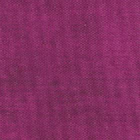Merida - Beaujolais - Plain fuschia coloured viscose, polyester and cotton blend fabric made with some grey patches