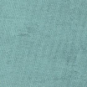 Merida - Dusky Turquoise - Plain fabric blended from light turquoise coloured viscose, polyester and cotton