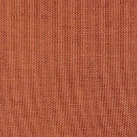 Merida - Orange Rust - Viscose, polyester and cotton blend fabric made in a burnt orange colour with a few very subtle, slightly darker patc