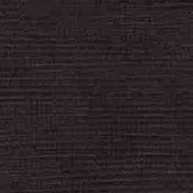 Kentia - Aubergine - Plain black fabric made from a mixture of cotton and viscose