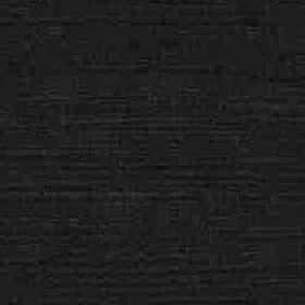 Kentia - Ebony - Cotton and viscose blended together into an unpatterned fabric in coal black