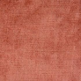 Kentia - Tigerlilly - Fabric made from cotton and viscose in a light shade of brick red