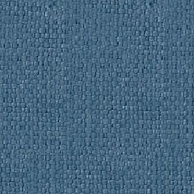 Kiloran - Dusk Blue - Fabric woven from cotton and linen in a fresh, rich cobalt blue colour