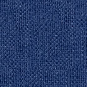 Kiloran - Indigo - Fabric woven from cotton and linen blend threads made in classic navy blue