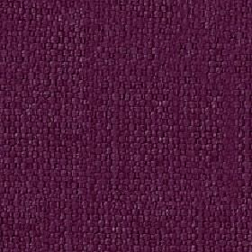 Kiloran - Port - Cotton and linen blend fabric made using threads in a deep, rich shade of purple
