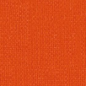 Kiloran - Burnt Orange - Bright orange coloured cotton and linen woven together into a bold fabric