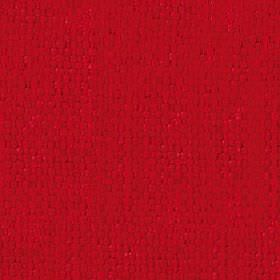 Kiloran - Poppy Red - Fabric made from cotton and linen using vivid scarlet coloured threads