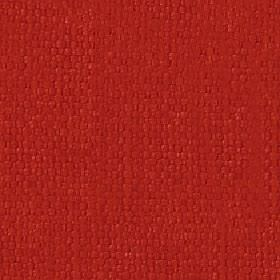 Kiloran - Tigerlily - Fabric woven from a rich pepper red coloured combination of cotton and linen