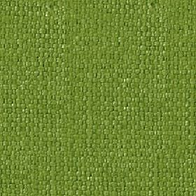Kiloran - Chive - Rich grass green coloured fabric woven with a mixed cotton and linen content