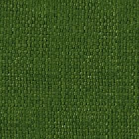 Kiloran - Spruce - Cotton and linen woven together into a fabric in a dark shade of emerald green