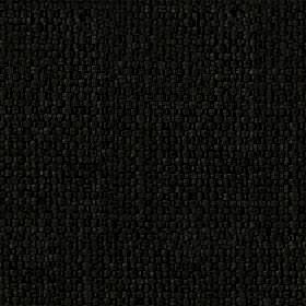 Kiloran - Jet - Cotton and linen blend fabric woven in a very dark slate grey colour