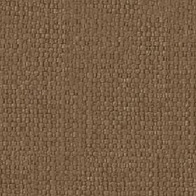 Kiloran - Teak - Rich brown cotton and linen blend fabric woven with a subtle hint of grey