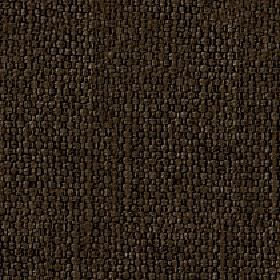 Kiloran - Mole - Some subtle light grey highlights woven into very dark brown-grey coloured cotton and linen blend fabric