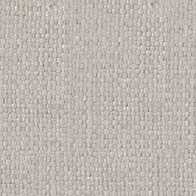 Kiloran - Parchment - Fabric woven from plain light grey coloured cotton and linen