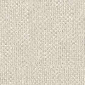 Kiloran - Putty - Very pale grey-white coloured threads woven together into a fabric made with a cotton and linen blend