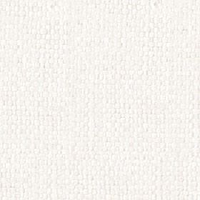 Kiloran - Snowdrop - Fabric woven from plain snow white coloured threads made with a combination of cotton and linen