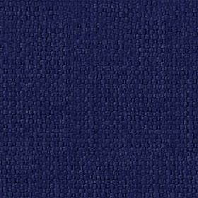 Kiloran - Midnight - Cotton and linen blend fabric woven using threads in a dark, indulgent shade of midnight blue