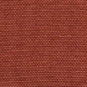 Lana - Apricot Nectar - Brick red coloured fabric woven from 100% polyester