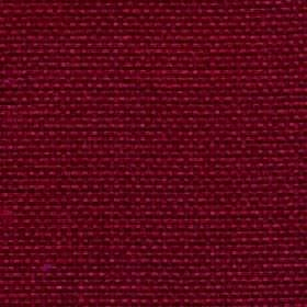 Lana - Claret - Deep cherry coloured 100% polyester fabric made with no pattern