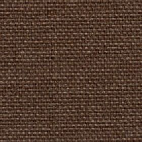 Lana - Cocoa - Fabric woven entirely from plain dark brown coloured polyester