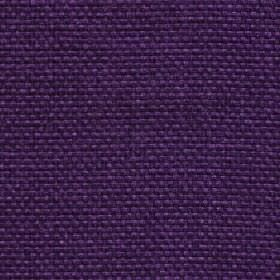 Lana - Damson - Royal purple coloured fabric made entirely from unpatterned polyester