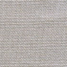 Lana - Feather Grey - Silver-grey and white coloured 100% polyester threads woven together into an unpatterned fabric