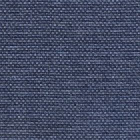 Lana - Flint Stone - Fabric made from plain dark denim blue coloured 100% polyester