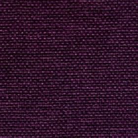 Lana - Aubergine - Luxurious dark purple coloured 100% polyester threads woven into an unpatterned fabric