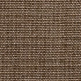 Lana - latte - Dark brown 100% polyester fabric woven with a few grey and cream coloured threads