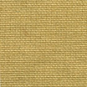 Lana - Ochre - Fabric made from 100% polyester in a plain colour that's a blend of straw and dusky green-grey shades