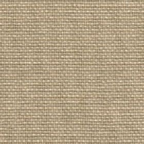 Lana - Pale Gold - Threads made from cream and light brown-grey coloured 100% polyester woven into a fabric with no other pattern