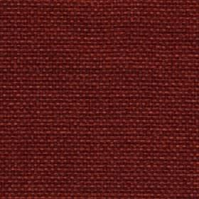 Lana - Autumn Ginger - Plain dark burgundy coloured 100% polyester fabric