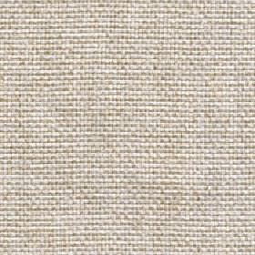Lana - Putty - White 100% polyester fabric which has been interwoven with some light brown-beige coloured threads