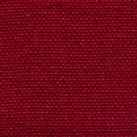 Lana - Red Rose - Scarlet coloured 100% polyester woven into a bright, luxurious, unpatterned fabric
