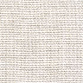 Lana - Shell - Chalk white coloured 100% polyester fabric featuring a few flecks in light beige