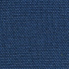 Lana - Blue Coral - 100% polyester fabric woven in navy blue