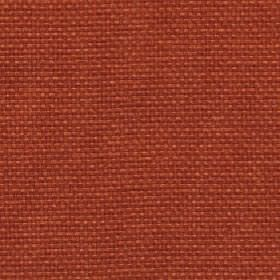 Lana - Tigerlilly - Terracotta coloured fabric made with a 100% polyester content