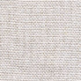 Lana - Winter White - Slightly flecked fabric made from 100% polyester threads in white and light grey colours
