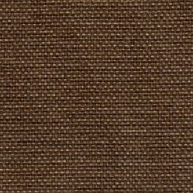 Lana - Butternut - Plain dark brown 100% polyester fabric woven with a few light coffee coloured threads
