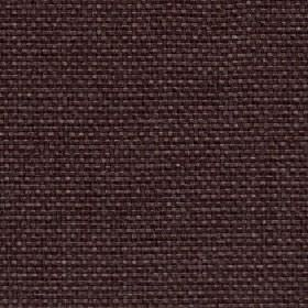 Lana - Chesnut - Fabric woven from 100% polyester in a very dark colour that