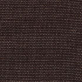 Lana - Chocolate - Very dark grey-brown coloured fabric woven from plain 100% polyester
