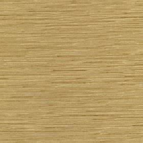 Lena - Fall Leaf - Straw, grey and brown coloured horizontally streaked fabric made from 10% silk and 90% polyester