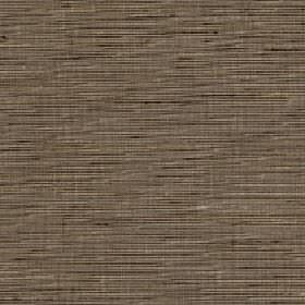 Lena - Incense - Fabric blended from horizontally streaked silk and polyester in dark brown and grey shades