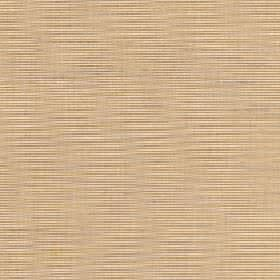 Lena - Marzipan - Fabric made from a mix of silk and polyester with a streaky horizontal line pattern in warm shades of cream, grey and beige